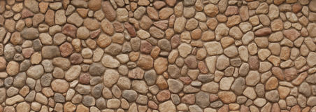 Field Stone Wall Stock Image
