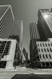 Field Street. Skyscrapers in Downtown Dallas, Texas Stock Photo
