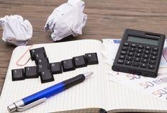 Field of study versus job Stock Photo