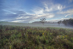 Field in Sullivan county New York Royalty Free Stock Images
