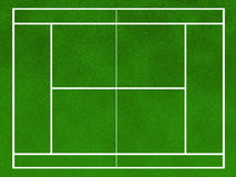field tennis Royaltyfri Fotografi