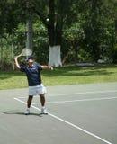 field tennis Fotografering för Bildbyråer