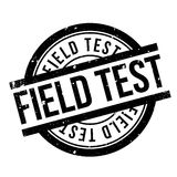 Field Test rubber stamp Royalty Free Stock Photo