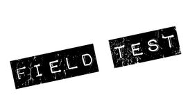 Field Test rubber stamp Royalty Free Stock Photos