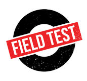 Field Test rubber stamp Stock Photo