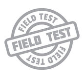 Field Test rubber stamp Stock Photos