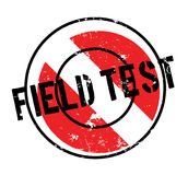 Field Test rubber stamp Stock Image