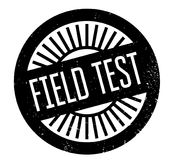 Field Test rubber stamp. Grunge design with dust scratches. Effects can be easily removed for a clean, crisp look. Color is easily changed Royalty Free Stock Image