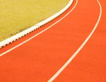 Field and track Stock Image
