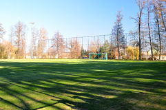 Field for training at the training base Dnepr Stock Photos