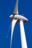 field turbines wind yellow royaltyfria foton