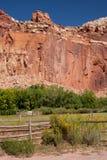 Field in Utah Royalty Free Stock Photos