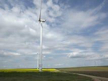 fields ветрянка Стоковое Фото