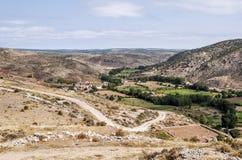 Fields of Albarracin Stock Photography