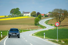 Fields of Bavaria Royalty Free Stock Image