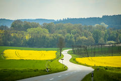 Fields of Bavaria Stock Photography