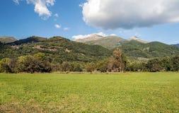 Fields of Castejon Stock Photography