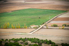 Fields Castile. Fields of Castile in autumn Royalty Free Stock Images