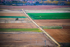 Fields of Castile. In autumn Royalty Free Stock Images