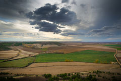 Fields of Castile. In autumn Royalty Free Stock Photography