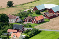 Scandinavian Farm Royalty Free Stock Images