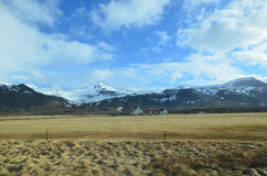 Fields and Farms on Snaefellsnes Peninsula in Iceland Stock Photos