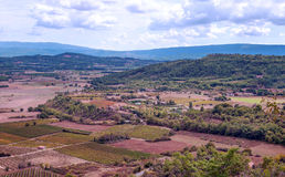 Fields of Gordes Royalty Free Stock Images