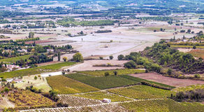 Fields of Gordes Royalty Free Stock Photography