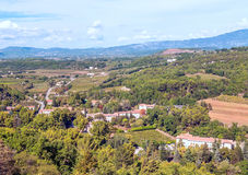 Fields of Gordes Stock Images