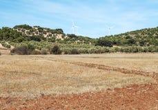 Fields of Granada Stock Image