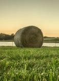 fields harvesting Стоковые Фотографии RF