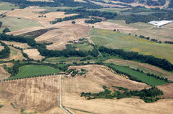 Fields of Italy near Rome Stock Images
