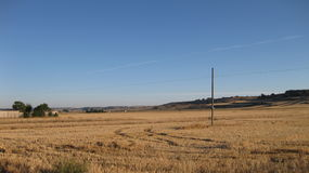 Fields and landscapes. Royalty Free Stock Image