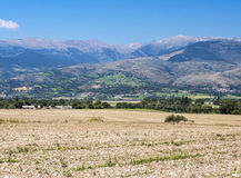 Fields of LLeida Royalty Free Stock Photography