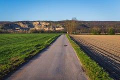 Fields in Lower Austria Royalty Free Stock Image