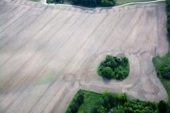 Fields and Meadows, Brandenburg, Germany Stock Photo