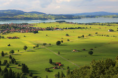Fields and meadows of Germany. Stock Photography