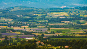 Fields and meadows in Provence, France. Royalty Free Stock Images