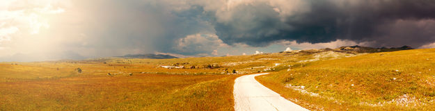 Fields of Montenegro Stock Photography