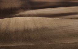 fields moravian Стоковое Фото