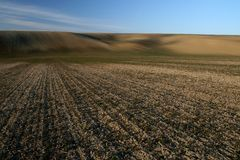 fields moravian Стоковая Фотография RF