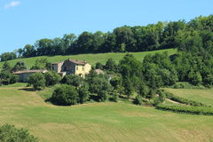 Fields in north italy Royalty Free Stock Photo