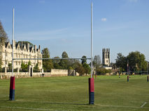 fields oxford rugby Royaltyfri Foto