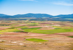 Fields in southern Spain Stock Photos