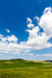 Fields in Tuscany, Italy Stock Images