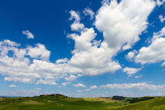 Fields in Tuscany, Italy Royalty Free Stock Photo