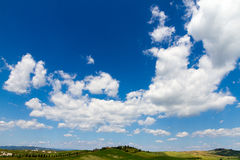 Fields in Tuscany, Italy Royalty Free Stock Images