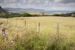 Fields in Waternish, Isle of Skye Stock Photos