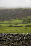 Fields in Yorkshire Dales Yorkshire England Royalty Free Stock Photography