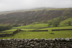 Fields in Yorkshire Dales Yorkshire England Royalty Free Stock Image